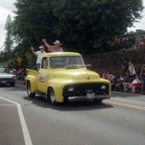 Cool ride at the Makawao Parade 2014