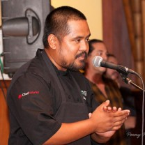 Top Chef finalist - Sheldon Simeon - cooked for us