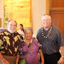 Don & Governor Abercrombie at the Aloha Senior Luncheon